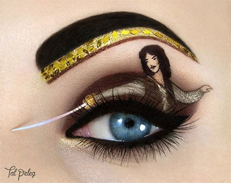 The Princess Bride Eye Makeup Art
