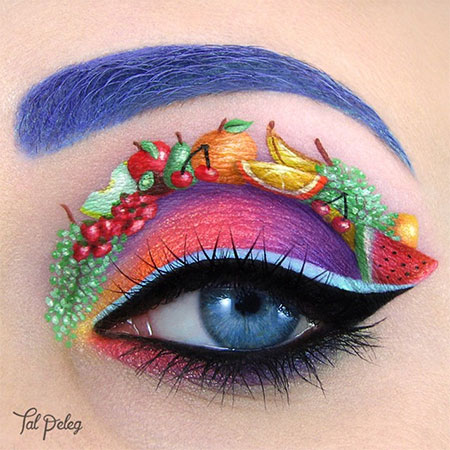 Fruits Eye Makeup Art
