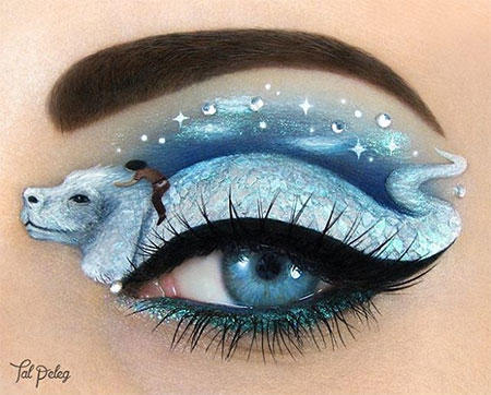 The NeverEnding Story Eye Makeup Art