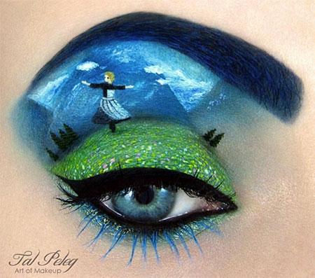 The Sound of Music Eye Makeup Art