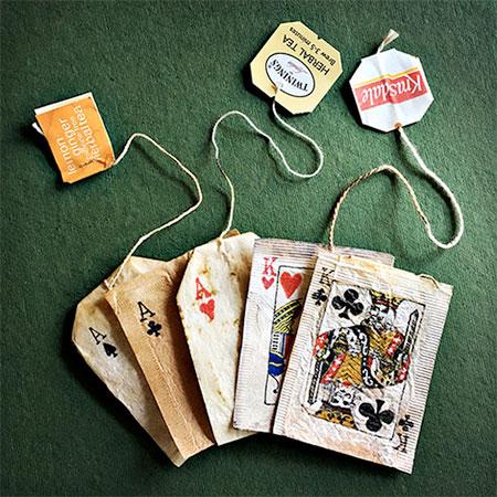 Creative Tea Bag Art