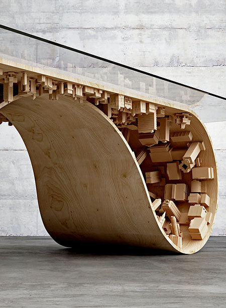 Stelios Mousarris Wave City Dining Table