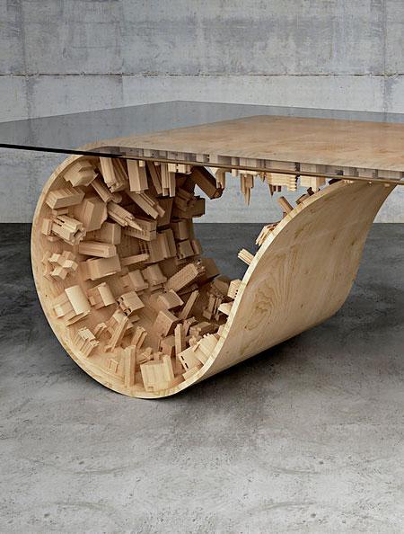 Stelios Mousarris Wave City Table