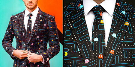 Pac-Man Business Suit
