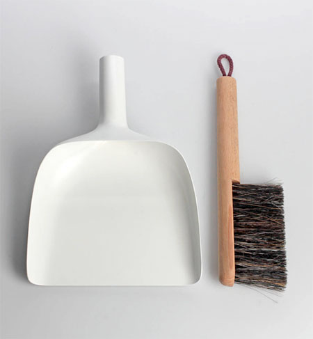 Jan Kochanski Sweeper and Dustpan