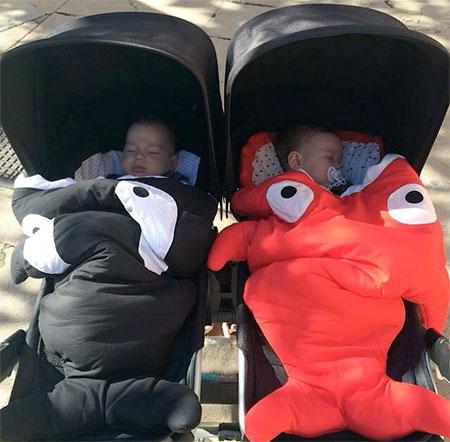 Baby Bites Fish Sleeping Bags