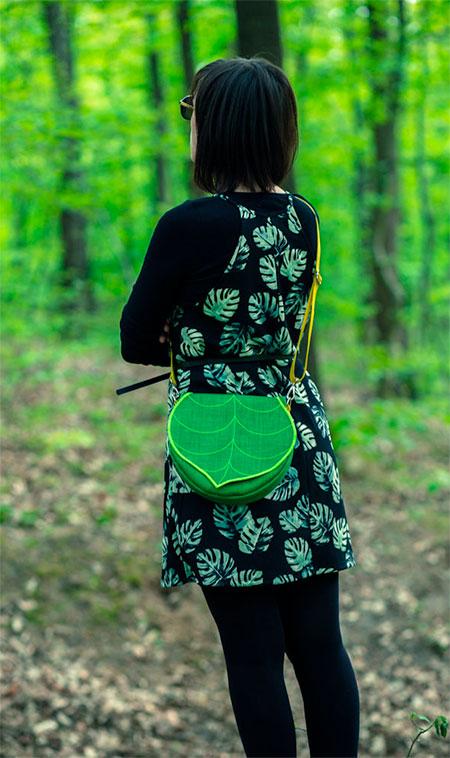 Leaf Handbags