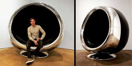 Airplane Engine Chair