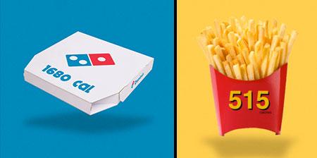 Calories in Junk Food