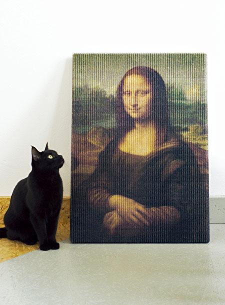 Erik Stehmann Mona Lisa Cat Scratcher