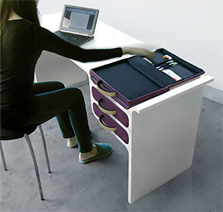 Jung-Ah Kim Drawer Briefcase