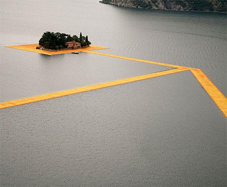 Lake Iseo Floating Piers
