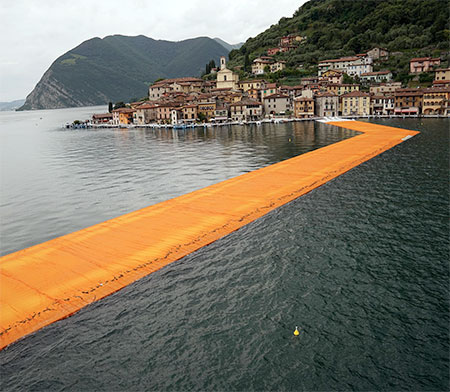 Italy Floating Piers
