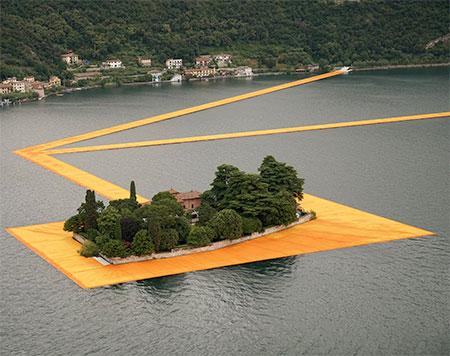 Lake Iseo Floating Dock