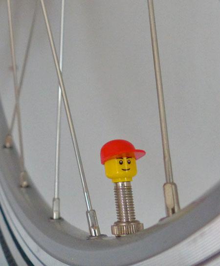 LEGO Bicycle Valve