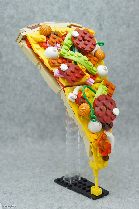 Pizza Made of LEGO