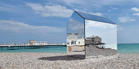 Invisible Beach Hut
