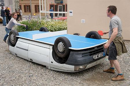 Ping Pong Car