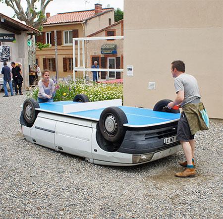 Benedetto Bufalino Ping Pong Car