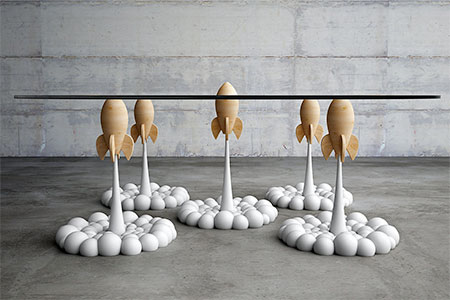 Stelios Mousarris Rocket Coffee Table