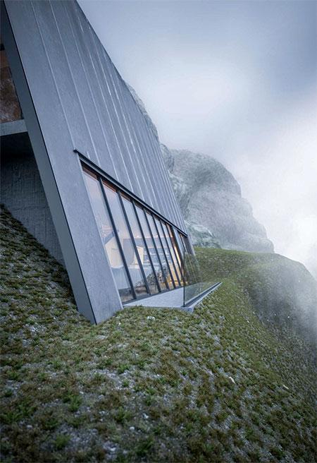 Matthias Arndt Triangle Cliff House