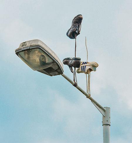 Gravity Defying Sneakers