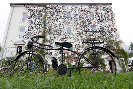 Bicycles Wall
