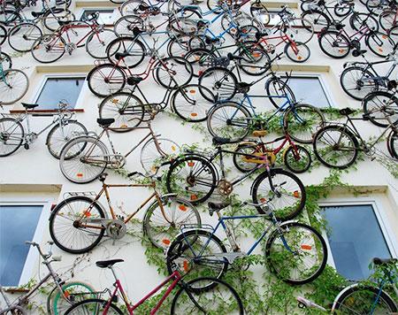 Bikes Wall