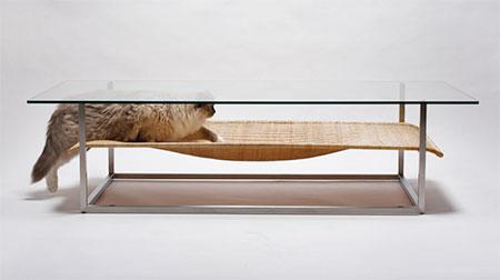 Koichi Futatsumata Cat Bed Table