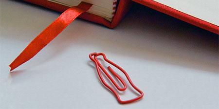 Coca-Cola Paper Clip