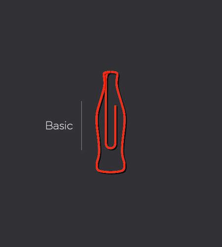 Coca-Cola Bottle Paper Clip