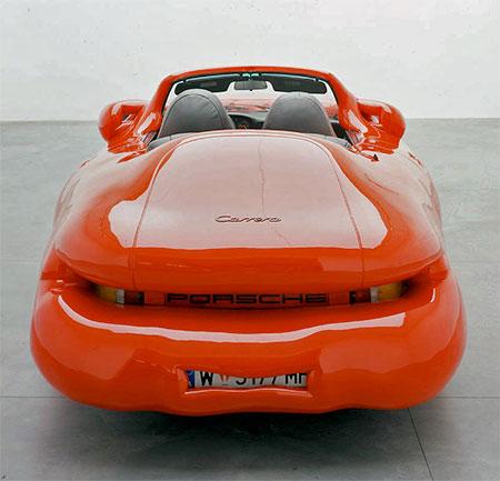 Erwin Wurm Fat Porsche
