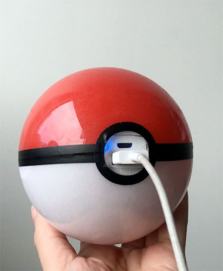 Pokeball Phone Charger