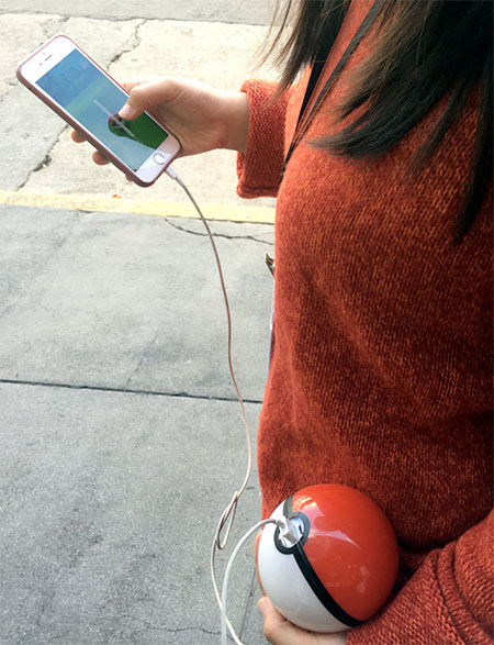 Pokeball Battery Charger
