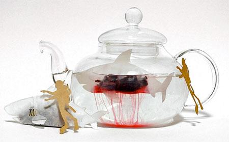 Shark Shaped Teabag