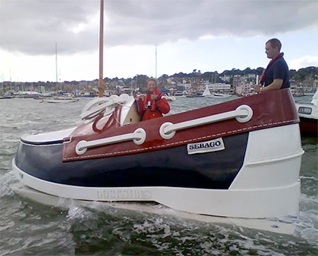 Shoe Shaped Boat