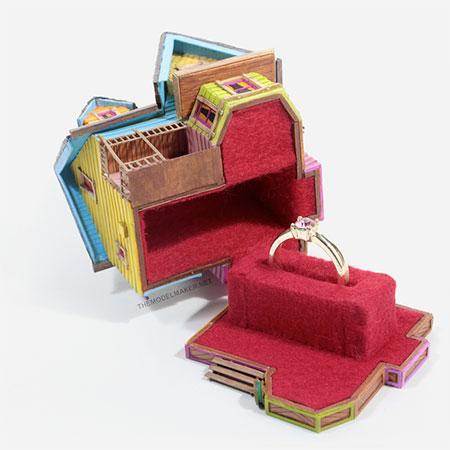 Pixar Engagement Ring Box