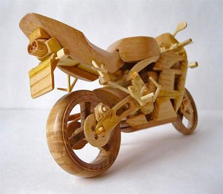 Vyacheslav Voronovich Wooden Motorcycles