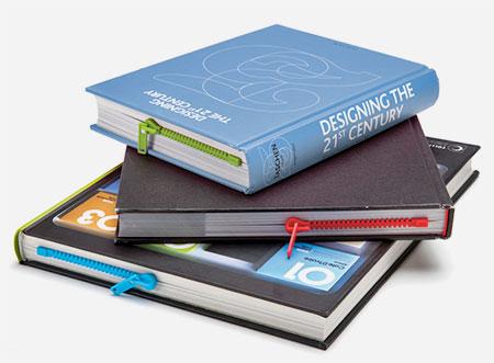 Peleg Design Zipper Bookmark