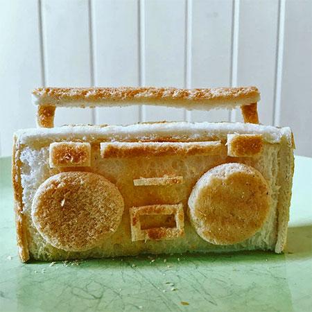 Toast Sculpture