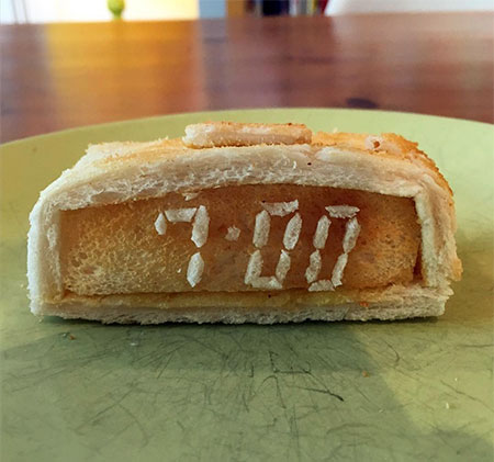 3D Toast Sculpture
