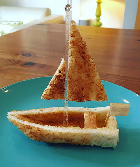 3d Toast Sculptures