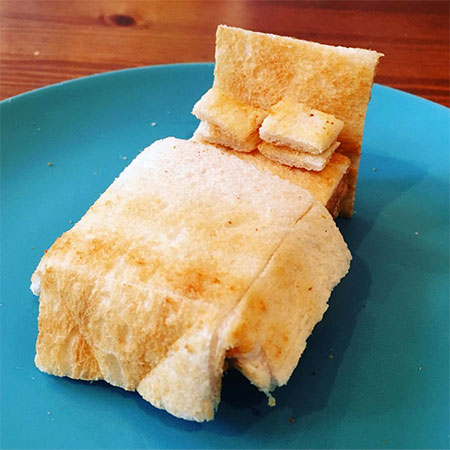 Adam Perry 3D Toast Sculpture