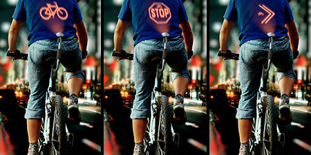 Bicycle Safety Projector