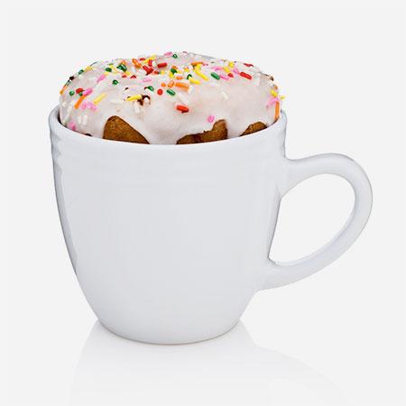 Muffin Warming Mug