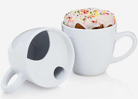 Bagel Warming Coffee Mug