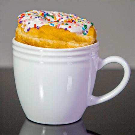 Bagel Warming Mug