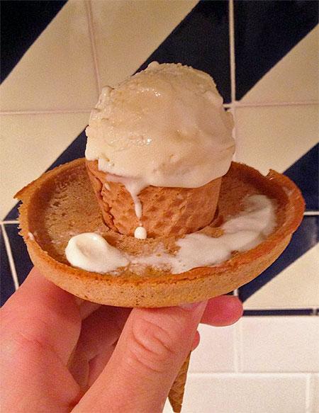 Edible Ice Cream Cone Ring