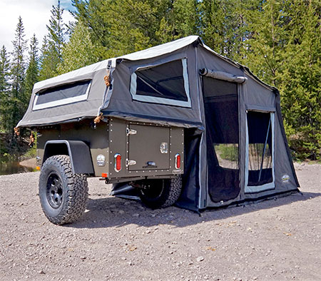 Also check out Car Shaped Trailers and C&ing Tent Shoes & Jeep Camping Tent