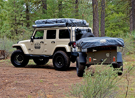 Jeep Camping Tent Trailer
